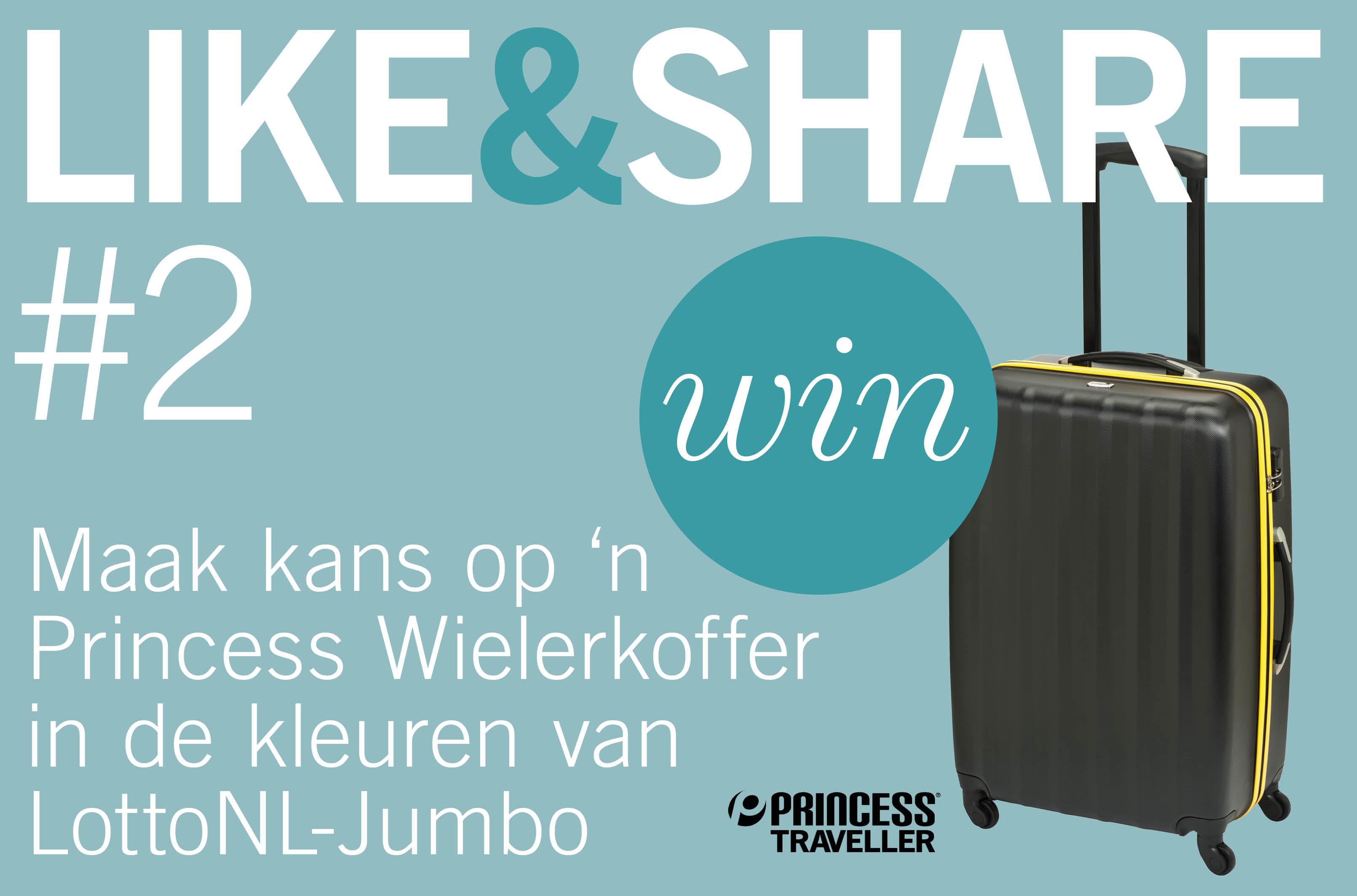Maak kans op een Princess Wielerkoffer in de kleuren van LotteNL-Jumbo