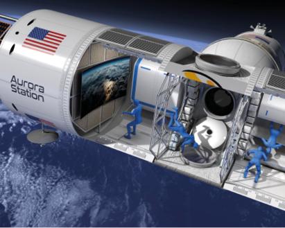 Een ruimtehotel in 2022