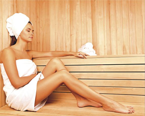Helemaal zen na een dagje sauna