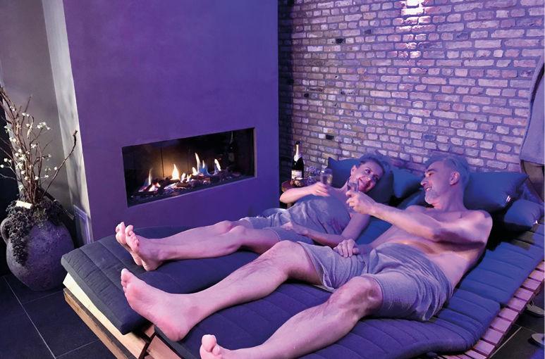 Wilt u volledig in de  watten gelegd worden in onze luxe privé-wellness?