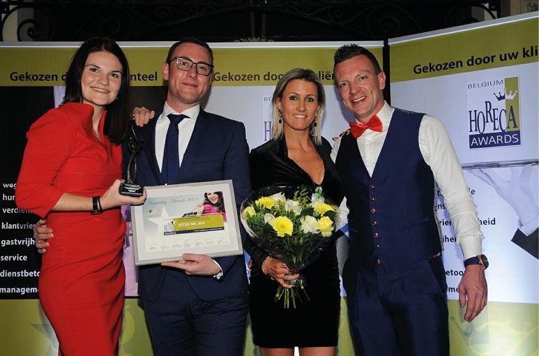Mr. Boo tweede jaar op rij winnaar Hospitality Award!