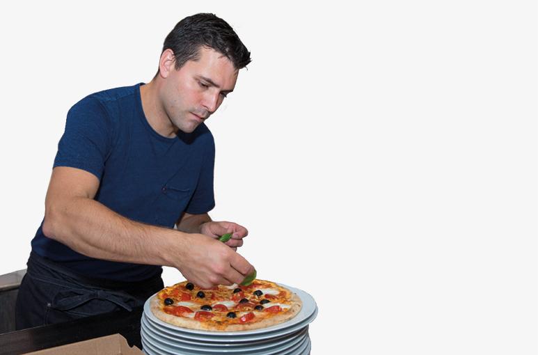 De lekkerste pizza's   van Breda