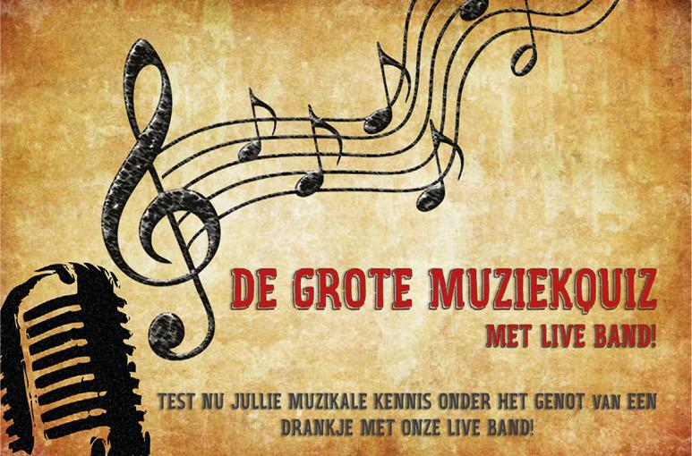 VVV BREDA TIPS Muziekquiz met live band