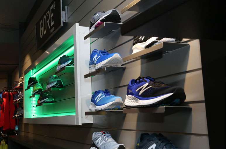 'Een goede schoen  is de basis'