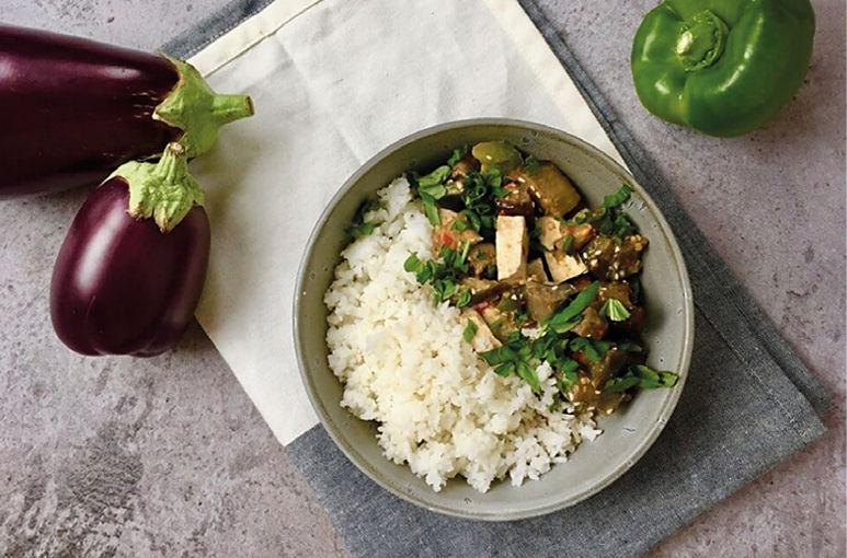 Thaise  groente-curry