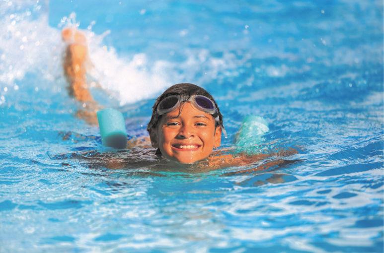 Zwemles met veel persoonlijke aandacht