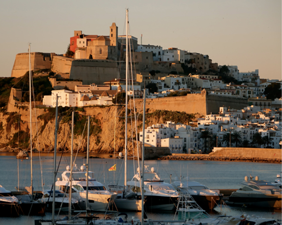 Ibiza in de winter