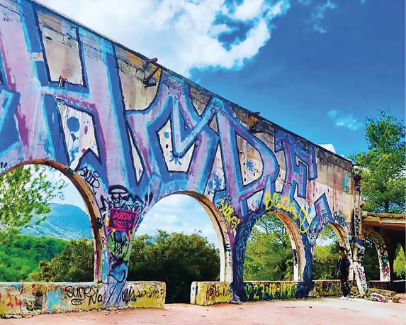 De ruïnes van Festival Club