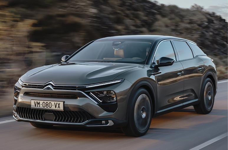 De nieuwe Citroën C5 X