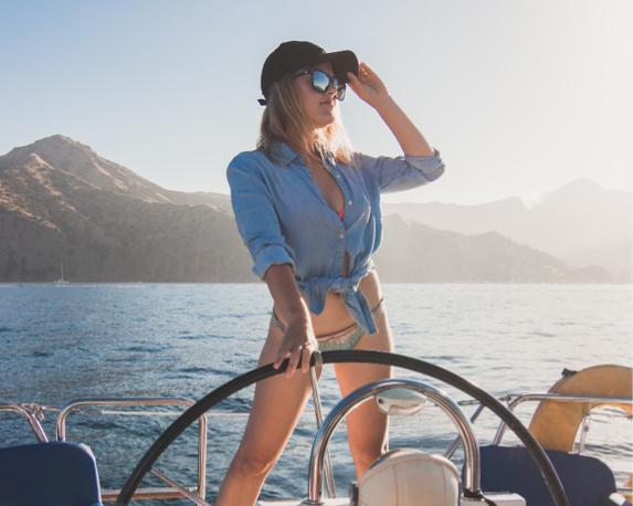Bootje varen in  Marbella