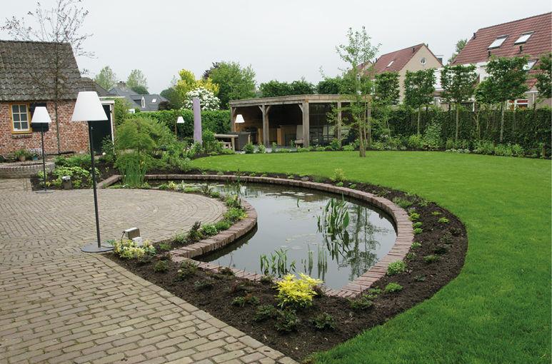 Een energetische tuin  brengt harmonie
