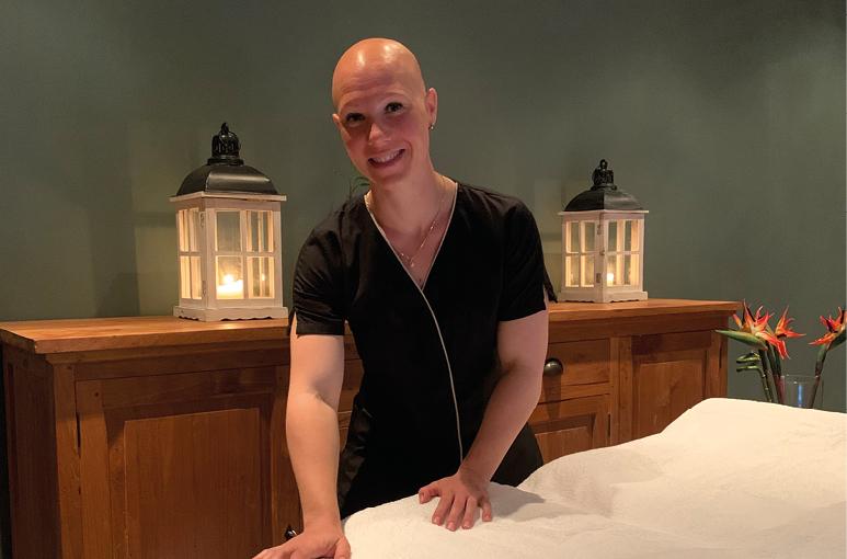 Een massage is  een cadeautje voor je lichaam