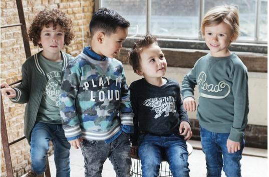 Mode voor  hippe Kids van 0 - 16 jaar