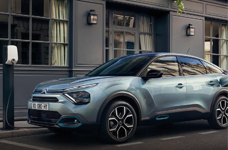 De nieuwe Citroën ë-C4